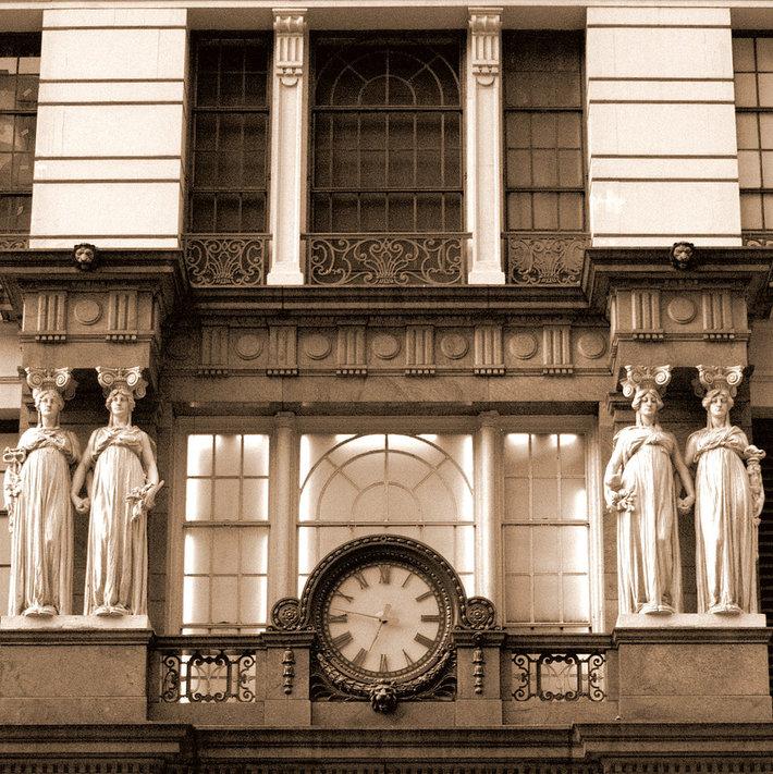 Reloj de Macy's, Manhattan. NY.