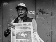 Pregonero de las calles de Caracas.