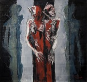 another way out.2009.oil on canvas.180x210 cm