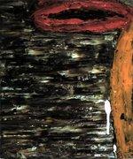 Pintura A, óleo sobre tela 12''x10'', 1990