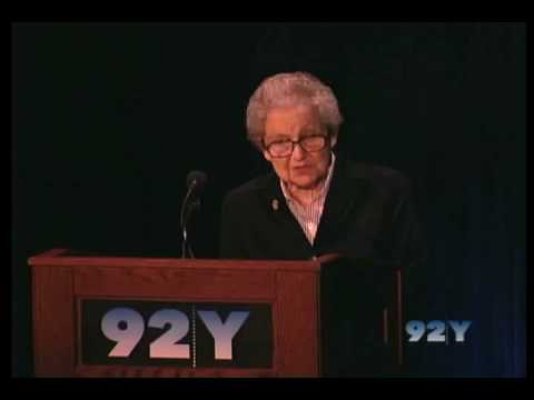Vivian Gussin Paley at 92Y Wonderplay Conference 2008