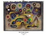 The Cosmic Syntax_Mixed media