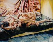 man woman relationship paintings male and female nude art
