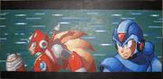 Megaman X and Zero