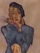 1-Marlene Dietrich por Carmen Luna