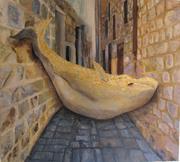 Leviathan 100x100cm oil on canvas