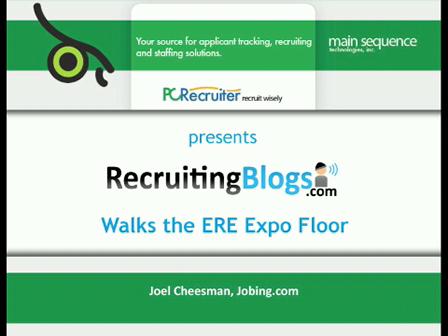 Joel Cheesman, Jobing.com at ERE Expo