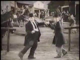 Laurel and Hardy Dance to the Gap Band