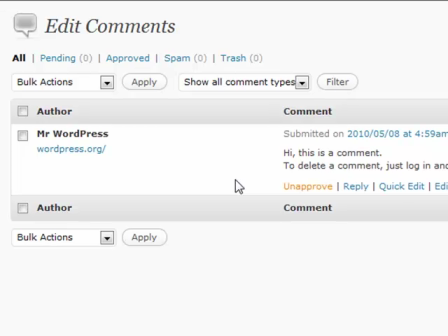 WordPress for Blogging Part 3: Comments