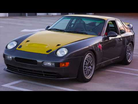 Porsche 968 Turbo RS Tribute