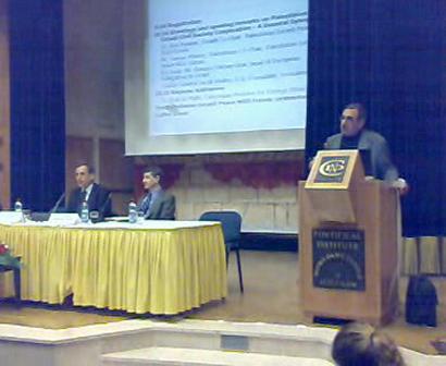 Saman Khoury, Peace NGO Forum, Feb 28, 2008