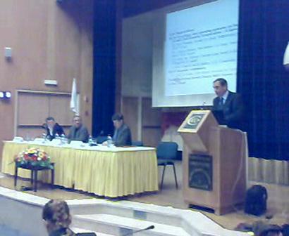 Ambassador Ramiro Cibrian-Uzan - Peace NGO Forum, Feb 28, 2008