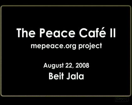 Peace Cafe II -- Nohar MISK's summary
