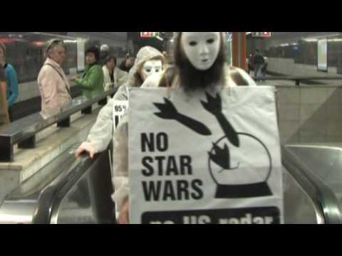 Obama in Prague: No to Star Wars!