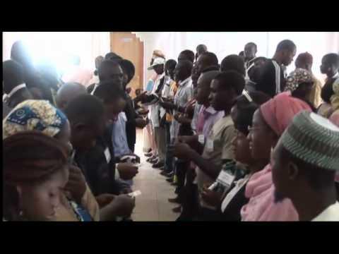 Nigeria Interfaith Dialogue - 2010 - Closing Earth Symbol Ceremony (4-1/2 min)