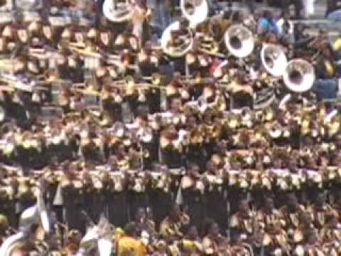 Magic City Classic ASU vs AAMU Pregame band battle pt. 1