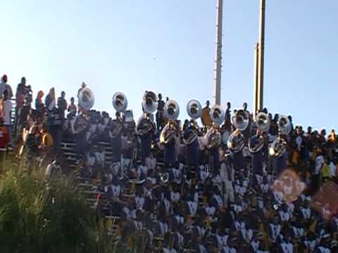 Albany State Surround Sound Snippet of Vadar at fountain city classic