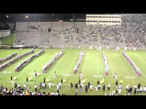SCSU MARCHING 101.... SPRITE 2010 BATTLE OF THE BANDS PART 1