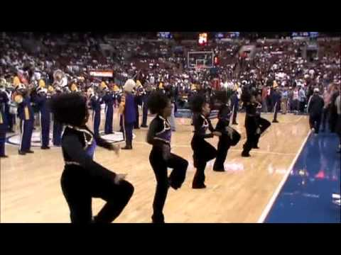 Camden High School Mighty Marching Panthers - 76ers Home Opener