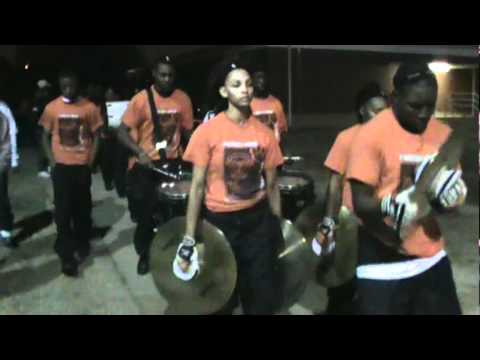 FAIRLEY BAND MARCHING BACK TO BANDROOM 2010