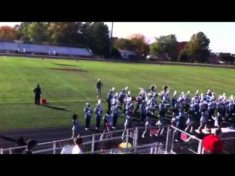Rich central marching band metamora  2010