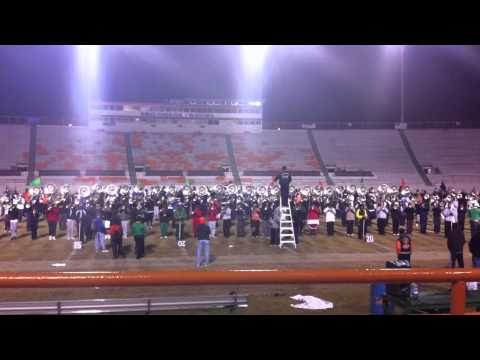 FAMU Marching 100 Black and Blues