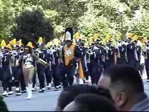 NCAT Marching Band Parade 2005