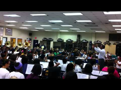 Southwest Dekalb - Through The Fire (Band Room Rehearsal)