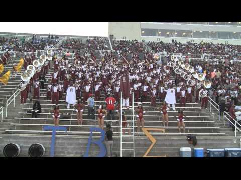 Alabama A&M University Band 2011 - Marvin and Chardonnay