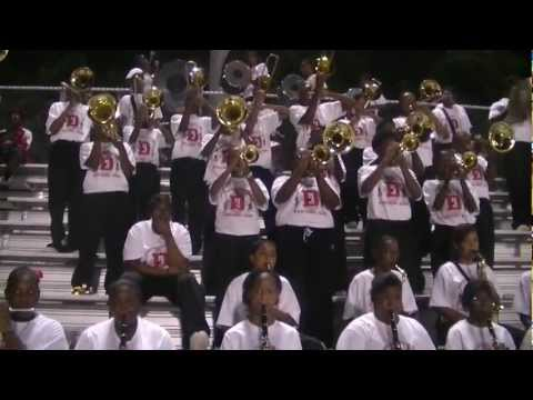 Donaldsonville High School Band 2011 Blood On the Dance Floor