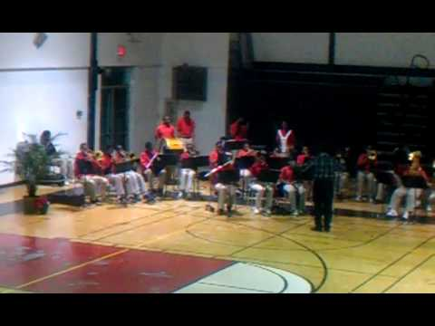 """Baker Middle School Band """"Rollin in the Deep"""""""