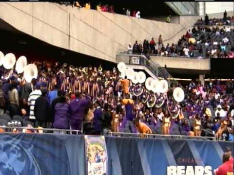 HBCU Bands: Alcorn vs MVSU 5th 2010 pt1
