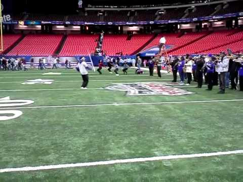 MBC after chick fil a bowl mass band practice