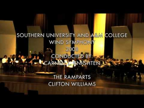 SOUTHERN UNIVERSITY WIND SYMPHONY: THE RAMPARTS-CLIFTON WILLIAMS