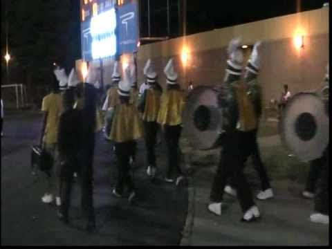 MLK Pulls Fast One On Langston Hughes As They Arrive To The Game Right Before Halftime 2010