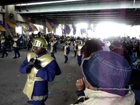 St. Aug Band in Mid-City Under the Bridge 2012