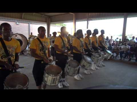 """Bayou Blowout Round 5 Summer 2012 """"Drum Sections Battle"""""""