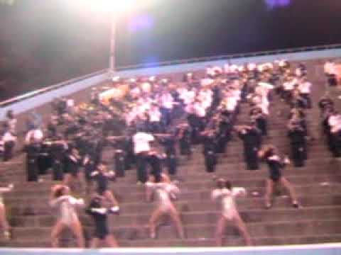 Redan High School Band | Senior Night | Get Up For The Down Stroke | 11.7.09
