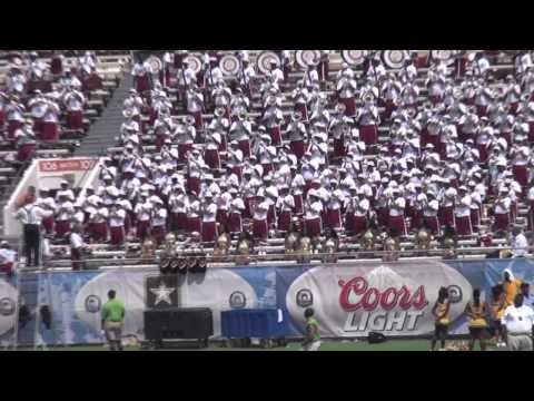 "2012 Bethune-Cookman University ""Marching WildCats"" playing ""Smile"" & ""Still Fly"""