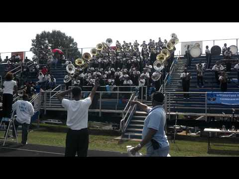 "Livingstone College Marching Band 2012- ""This Ain't What You Want"""