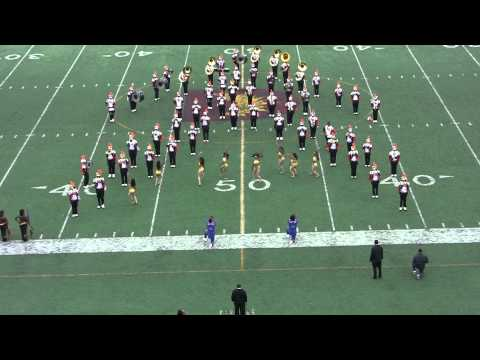 Langston University Marching Band 10/06/12