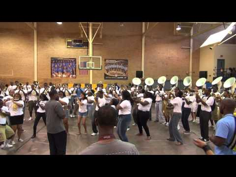 Human Jukebox @ Homecoming 2012 Pep Rally