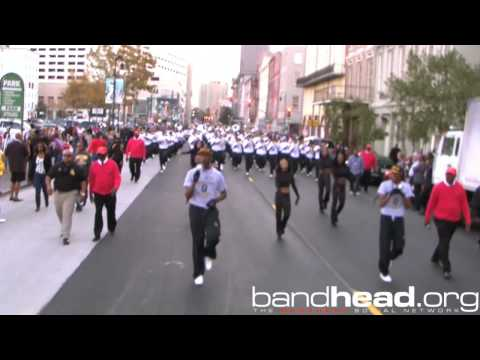 "GSU Playing ""I'm Your Baby Tonight' During Bayou Classic Parade 2012"