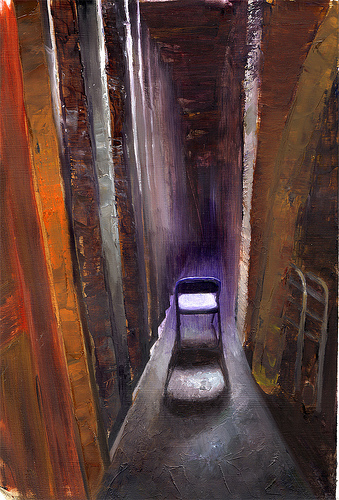 Tun Myaing  |  Hallway study 08