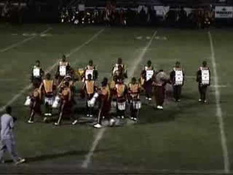 Central State University Percussion 2007