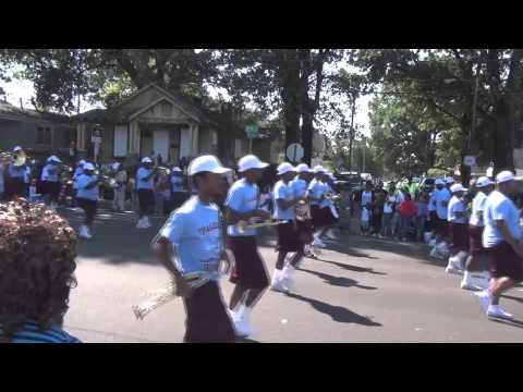 2012 Talladega College Marching Band @ Southern Heritage Classic Parade