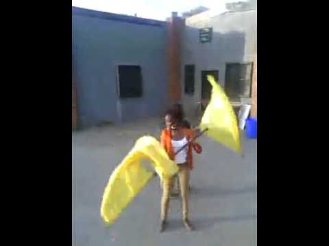 Double Body Toss - Color Guard