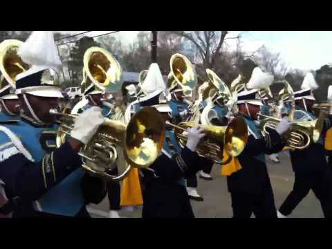 Southern University Marching Band 2012-13 in Kentwood, La