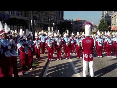 Talladega College Marching Tornadoes Showing Out In Downtown Atlanta