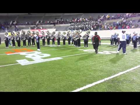 Southern Heritage Classic - Post Game Tuba and Trombone Fanfares - 2013